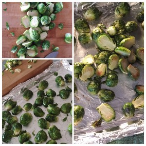 Roasted Brussels Sprouts Salad