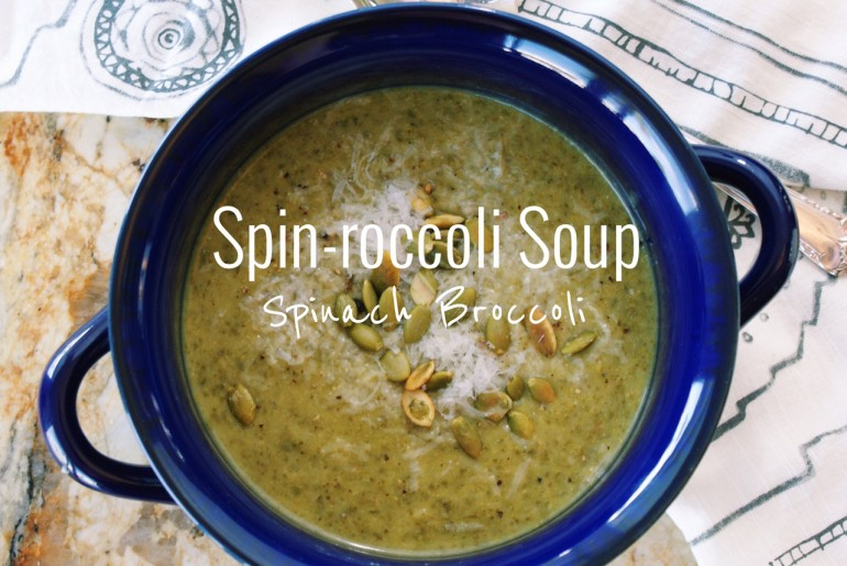 Spin-roccoli Soup