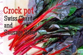 Swiss Chard and Sausage Stew