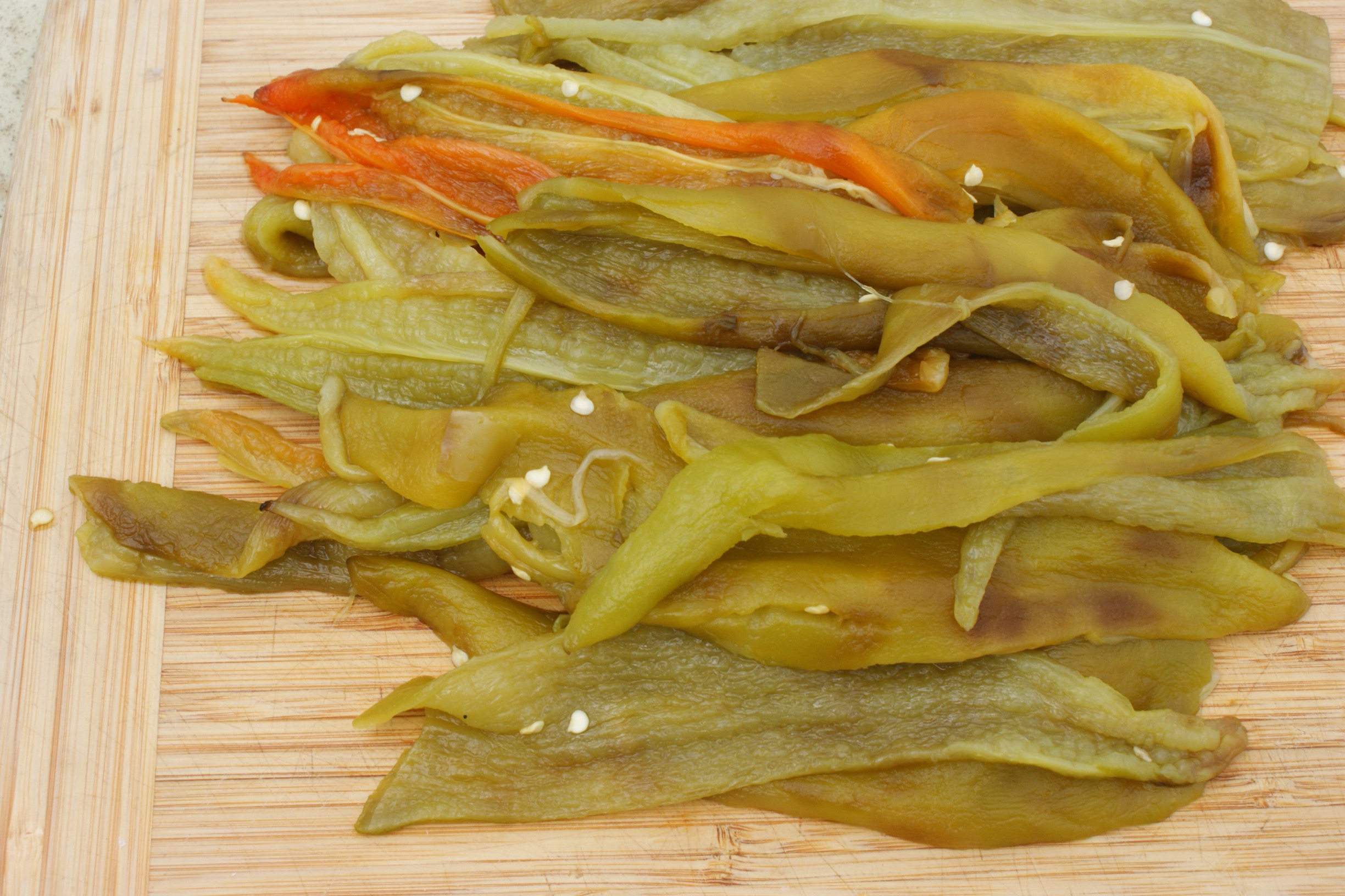 Peeled Green Chile