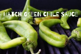 Super Simple Hatch Green Chile Sauce