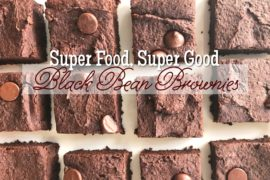 Super Food Super Good Black Bean Brownies