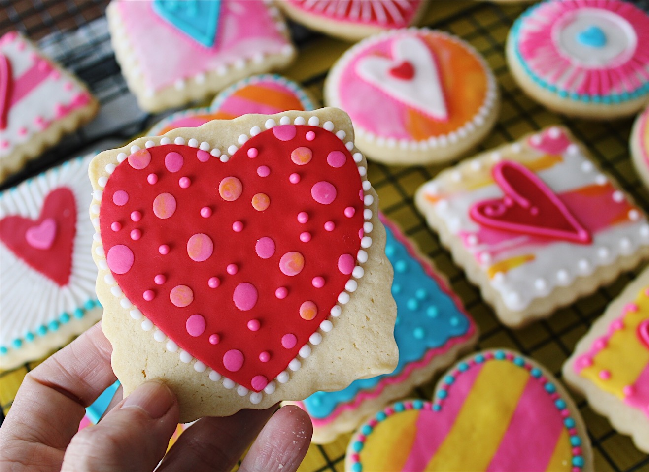 Decorated Cookies Valentines Edition